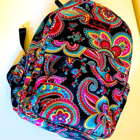 Vera Bradley Lighten Up Grand Backpack paisley